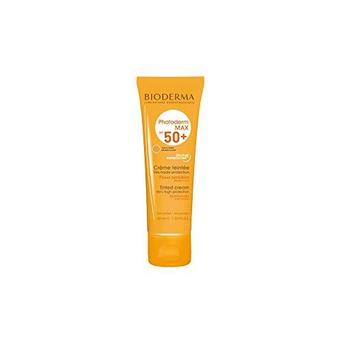 BIODERMA PHOTODERM MAX SPF50+ Creme getönt für empfindliche Haut 40 ml