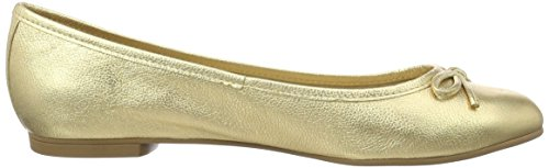 Buffalo Zs 2590-16 Vegetal Leather, Ballerines Femme Or (Ouro 01)