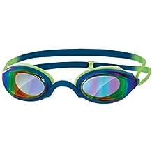 Zoggs Fusion Air Gold Gafas de Natación, Hombre, Azul, Talla Única