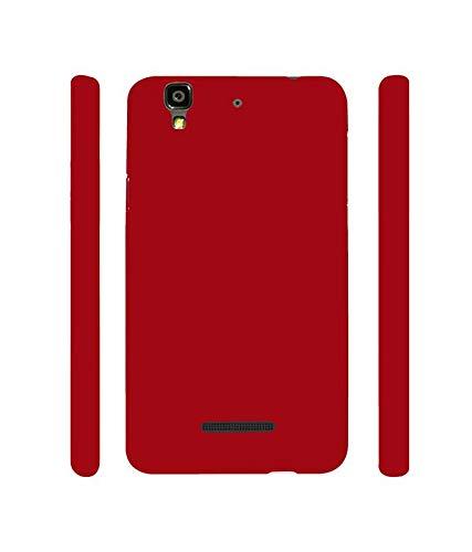 Praksh Soft TPU Flexible HD Back Cover (Red) for Micromax Yu Yureka 5510 / 5510Aby Praksh