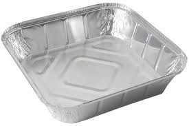 GSL® - 50 x LARGE ALUMINIUM FOIL FOOD CONTAINERS TRAYS
