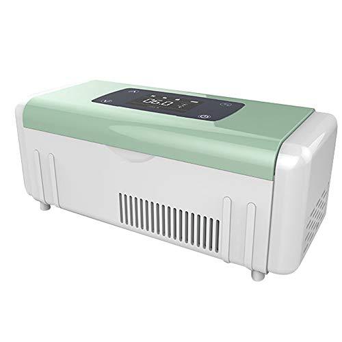 Car refrigerator Tragbare KüHlbox - Kleiner Insulin-KüHler, Tragbare Wiederaufladbare Medizin/Impfstoff/Probiotische Aufbewahrungsbox, Auto/Heim 2-8 ° C