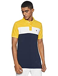 Amazon Brand - House & Shields Men's SolidRegular Fit Polo