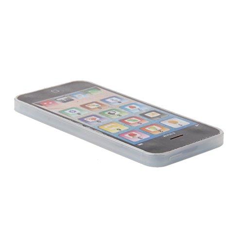 Aawsome 1pièce enfants enfant téléphone Musique téléphone portable Study jouet éducatif Cadeau 12 * 5.5CM blanc