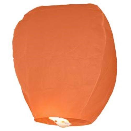 Farolillos voladores 10unidades naranjas Sky Lantern