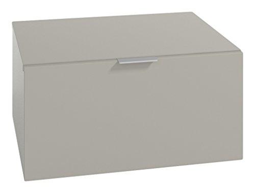 LOWE Muebles Uno - Módulo 1 Cajon, 45 x 47 x 30 cm, Gris