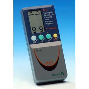 elettrostimolatore TESMED 780 plus + 2 buste di elettrodi - 124 trattamenti -sport, estetica, tens dolori -2/4 canali per utilizzo di 8 elettrodi contemporaneamente - dispositivo medico SPEDIZIONE EXPRESS GRATIS