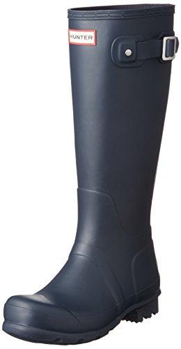 Hunter Original Tall, Damen Stiefel Navy