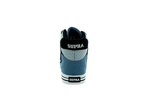 Supravaider - Sneaker Unisexe - Adulte Slate Bleu / Marine - Blanc