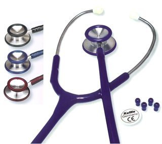 KaWe-Standard-Prestige Stethoskop 56cm schwarz, Stethoskope, Otoskope (Stethoskop-otoskop)