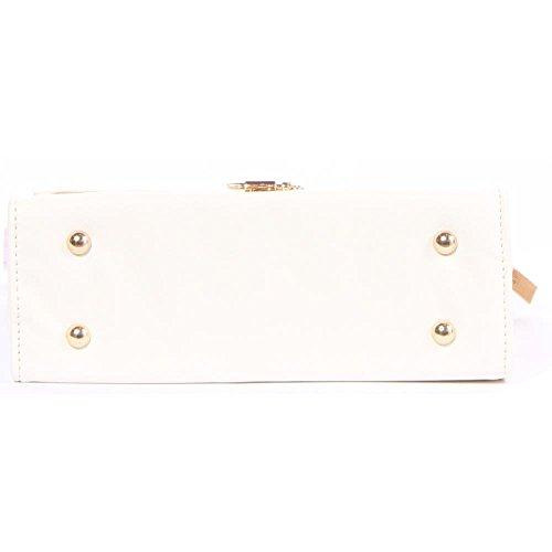 G. Ruth Donne hand bag with hand fan PELLE SINTETICA Borse Bianco