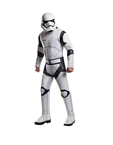 Der Force weckt Kostüm, Herren Star Wars Deluxe Stormtrooper-Outfit, Standard, Brust 111,8cm Taille 76,2-86,4cm Hosenlänge (Stormtrooper Outfits)