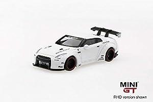 MINI GT Coche en Miniatura de colección, MGT00009-L, Color Blanco