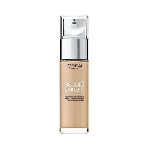 L'Oreal - Maquillaje Fluido Accord Perfect, Tono Beige Dore 3D