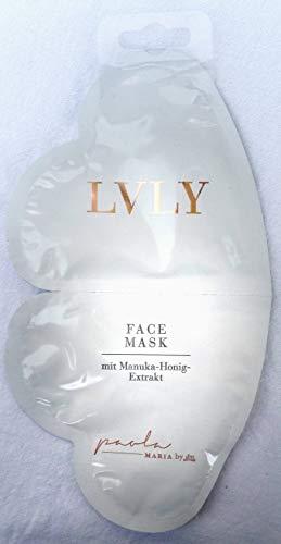 LVLY by Paola Maria Gesichts Maske mit Manuka Honig Extrakt 2 x 16ml