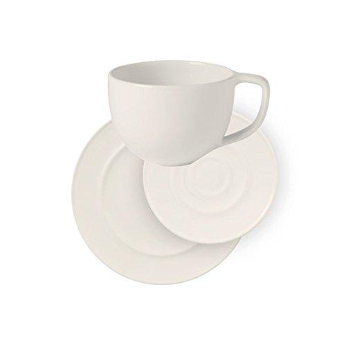 Vivo by Villeroy & Boch Group Neo White Kaffeeservice für bis zu 6 Personen, 18-teilig, Premium...