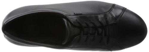 ECCO ABELONE Damen Flache Hausschuhe Schwarz (BLACK 11001)