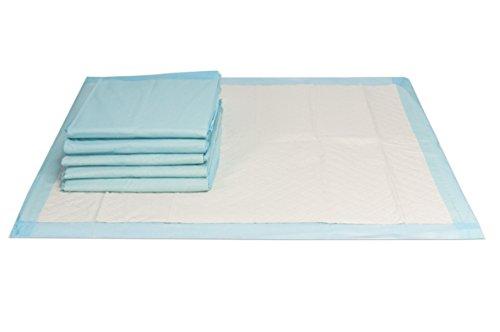 150 Stück | Inkontinenzunterlagen, Krankenunterlagen 60x60cm, handlich unterverpackte Einwegunterlagen, 6 lagig aus Zellstoff, VIDIMA
