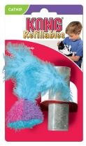 Kong Cat Feather Catnip refillable toy play