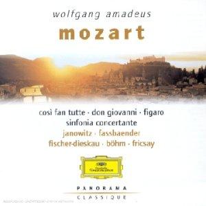 Cosi fan tutte / Don Giovanni / Les Noces de Figaro / Symphonie concertante (Coll. Panorama)