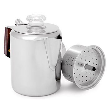 Gsi Outdoors Glacier Stainless Percolator 31H75G8MZcL