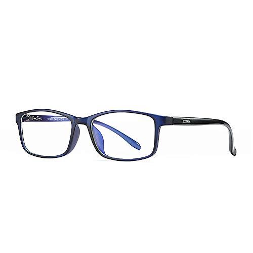 uter, blaues Licht blockierende Brillen, Anzug zur Verwendung von Telefon/Lesen / Spielen/Fernsehen, Anti-Augen-Kopfschmerzen Video-Brillen, Unisex ()
