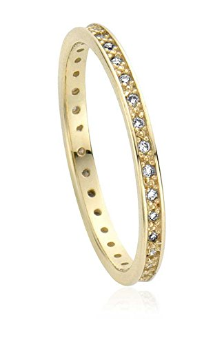 clogau-gold-protection-affinity-stacking-ring-size-s