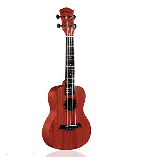 Dream far Tastiera e Ponte in Palissandro Ukulele di Mogano a 4 Corde da 23 Pollici, Perfetto per Gli Amanti della Musica per Chitarra, lucidato a Mano, Non graffiante