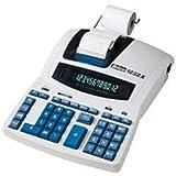 Rexel Ibico 1232X Profi-Tischrechner, schwarz/blau, mit Digitron-Display