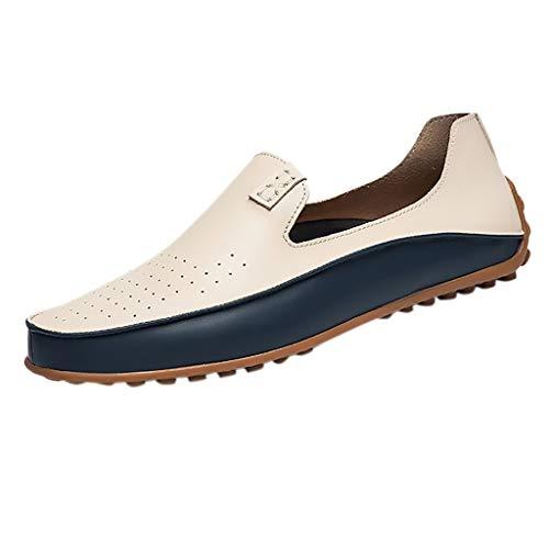 EU39-EU46 ODRD Schuhe Herren Freizeitschuhe Flut Herren Erbsen Lederschuhe Britische Fahrschuhe Faule Schuhe Stiefel Stiefeletten Wanderstiefel Combat Worker Boots Laufschuhe Sports