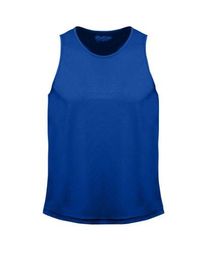 AWDis - Maglietta sportiva -  uomo Blu