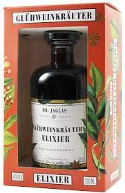 Dr. Jaglas Glühwein-Kräuter-Elixier | Einzelflasche mit 0,5L | 28% Vol -