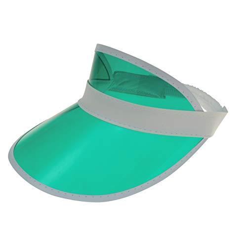 Aliki Sonnenkappe Poker Visor-Cap Retro grün (K)