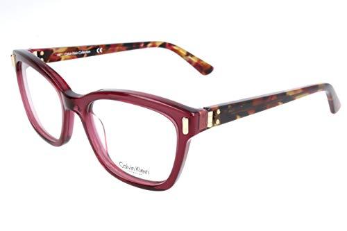 Calvin Klein Damen Brillengestelle, Brown, 51