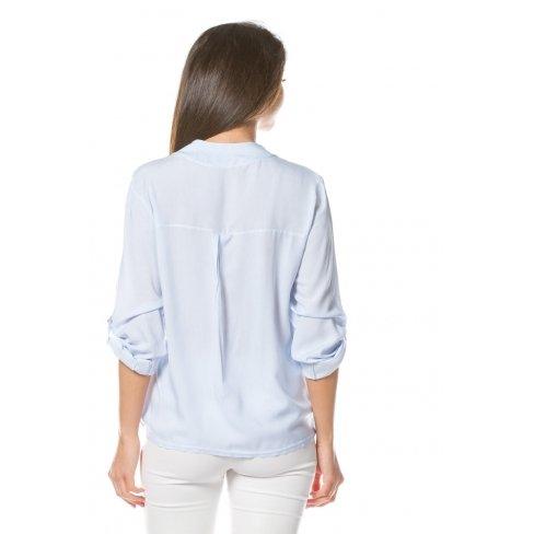 Princesse boutique - Chemise BLEU asymétrique Bleu