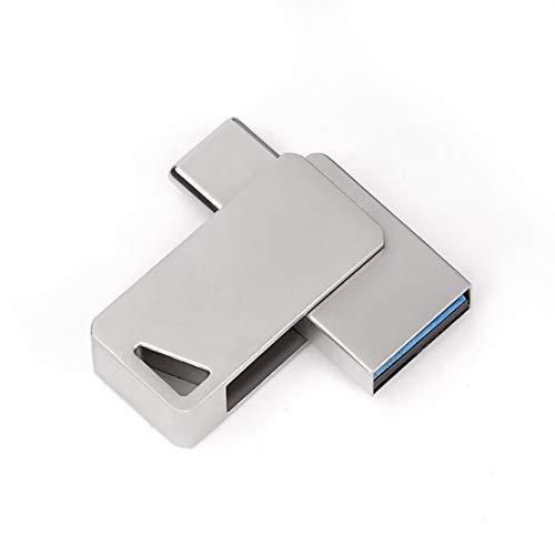 Preisvergleich Produktbild Jiuyizhe USB 3.0-Flashlaufwerk Memory Stick USB-Stick 2in1 Richwell Auf Android-Geräte,  Computer anwenden (Capacity : 128GB)