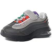zj Zapatillas Deportivas para Niños Y Niñas Zapatillas Ligeras para Niños Super Fire Color de Moda Color a Juego Zapatos Deportivos para Niños en Los Zapatos Casuales de Los Niños Grandes,Púrpura,35
