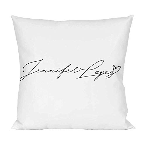 Movie Stars Merchandise Jennifer Lopez Pillow Cushion Extra Soft Polyester for Bed Home Furniture by