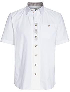 Distler Kurzarm Trachtenhemd Dietfried - Herren Trachten-Hemd,trachtlich,Männer,Wiesn,Oktoberfest
