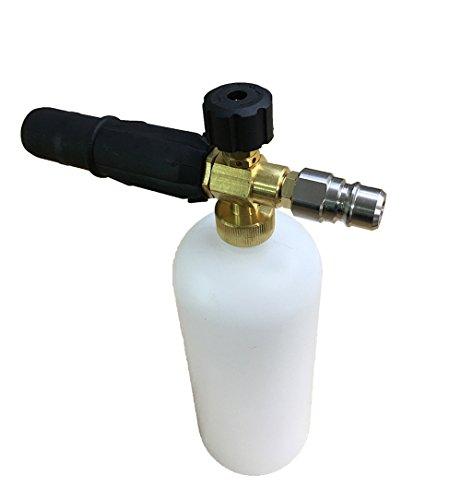 mingou High Druck Auto Waschmaschine Gun Spray Schnee Schaumstoff Flasche Wash Lance Reiniger (CW040) (Auto-spray-flasche)