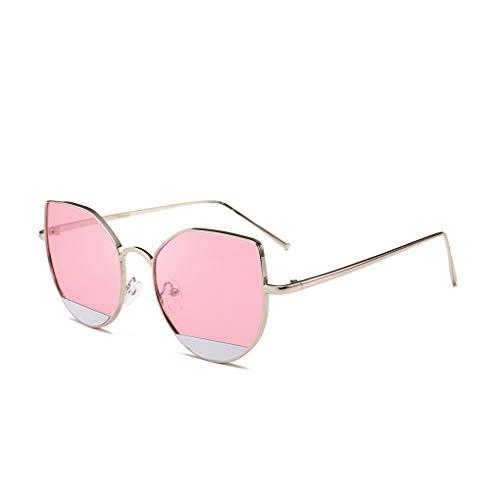 Masterein Frauen Metallrahmen Resin Objektiv Sonnenbrillen UV400 tägliche Abnutzungs-Sun-Glas-Bike Fahren Boating Anti-UV-Brillen
