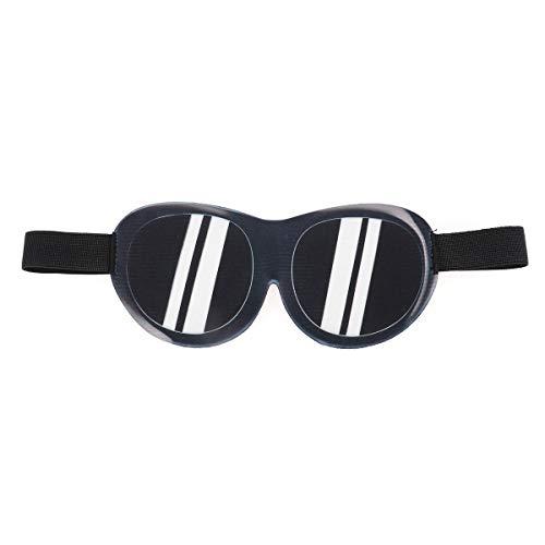 Beaupretty Lustige Augenmaske 3D Sonnenbrille Eyeshade Funny Parodie Stereoscopic Schlaf Eye Shade für Home Travel Outdoor Outdoor so tun, als Sonnenbrille haben Have
