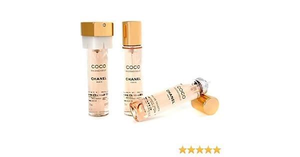 Chanel Coco Mademoiselle Twist   Spray Eau De Toilette Refill -  3x20ml 0.7oz  Amazon.co.uk  Beauty 481984116