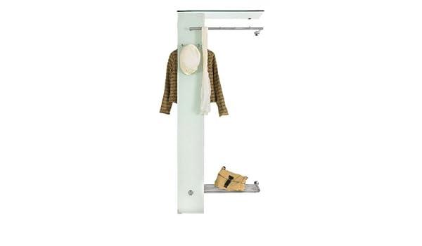 7 Haken 80x75x10 cm Spinder Design Matches XS Wandgarderobe // Garderobe Schwarz