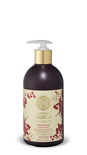 Natura Siberica Softening Cream Soap with Organic Shea Butter, 500 ml