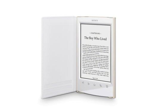 Sony PRSA-SC22 Leder Schutzhülle für E-Book PR-TS2 Reader weiß (Sony T2)