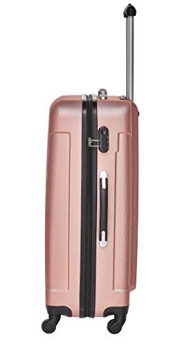 Packenger Reisekofferset Travelstar 3er-Set in verschiedenen Farben (Mauve) - 3
