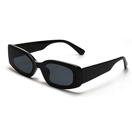 GJYANJING Sonnenbrille Mode Cat EyeSonnenbrille Frauen Rechteck Sonnenbrille Candy Farbe Damen Eyewear Shades Männer Uv400