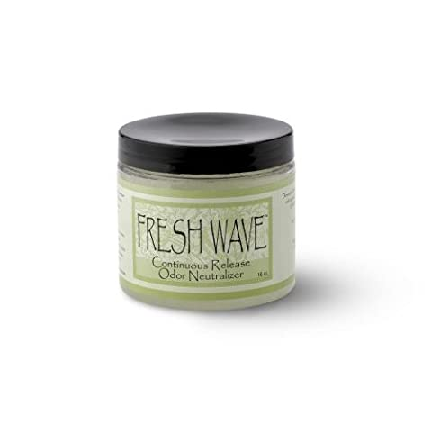 Fresh Wave Odor Eliminating Crystals, 16-Ounce Jar (Pack of 4) by Fresh Wave