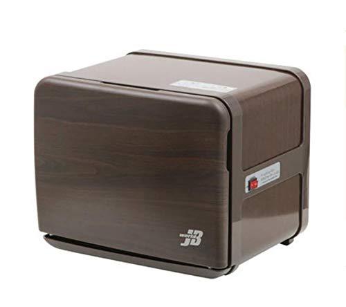 130W Mini Toalla caliente Calentador de toallas Esterilizador Inoxidable Gabinete de robo Piel Spa Herramienta Cabello Salón de belleza Inicio Desinfector Equipo de vapor,Negro